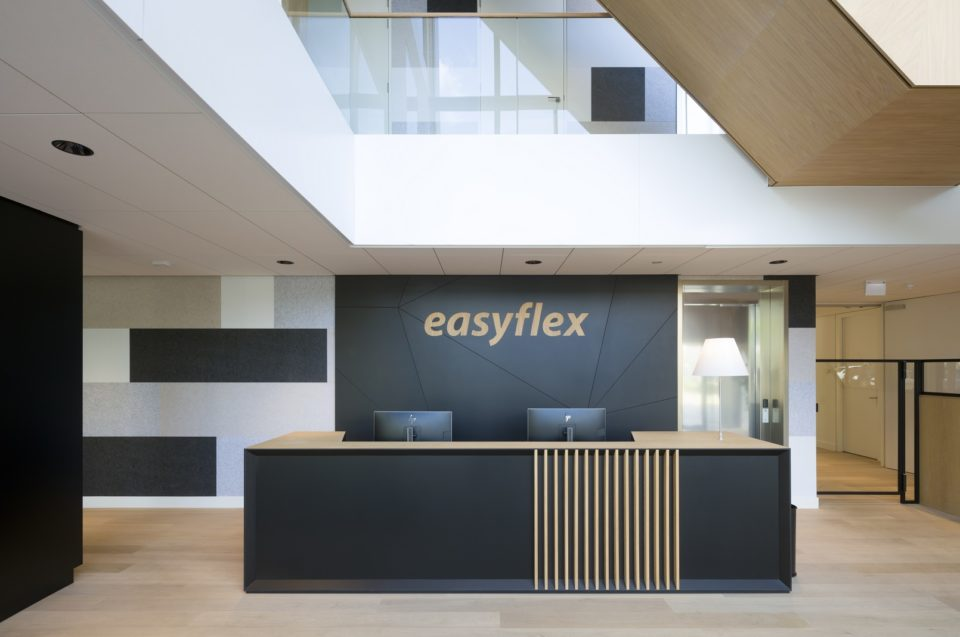 Easyflex interieur ontwerp met PET Felt panelen