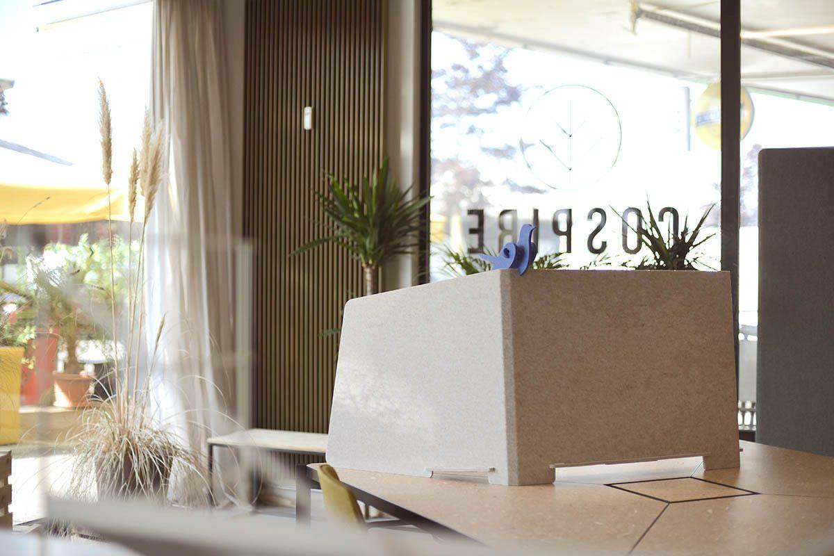 ReFelt PET Felt Workplace Divider Cospire Lausanne LR 1