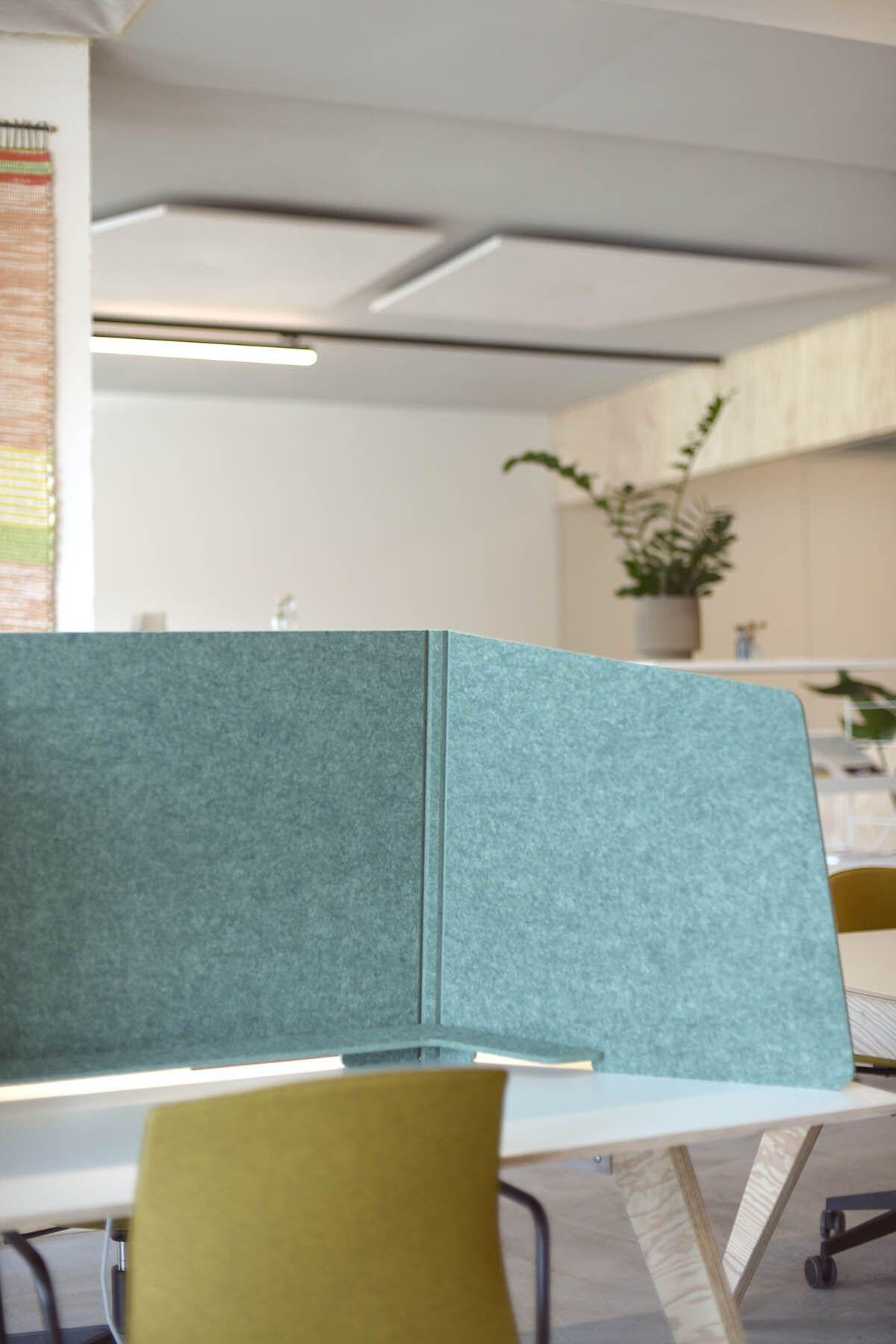 ReFelt PET Felt Workplace Divider Cospire Lausanne LR 3